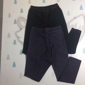 Other - Girls random 2 piece soft jean leggings